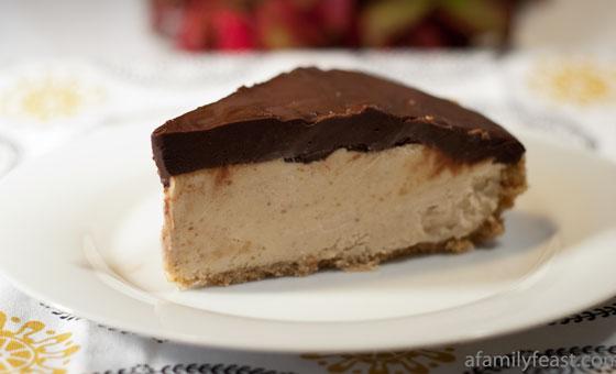 Chocolate Peanut Butter Pie - A luscious peanut butter pie with a ...