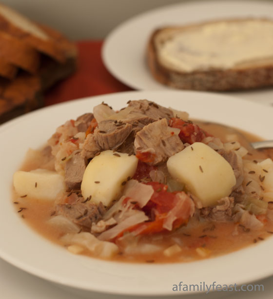 kapusta polish cabbage soupd