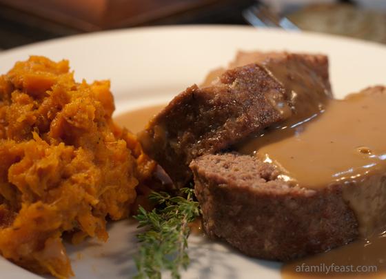 Turkey Meatloaf With Gravy Meatloaf With Gravy