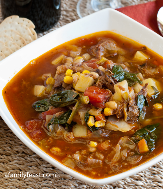 Beef Soup Series: Hearty Beef Vegetable Soup