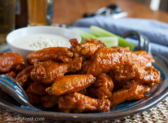 Classic Buffalo Wings - A Family Feast