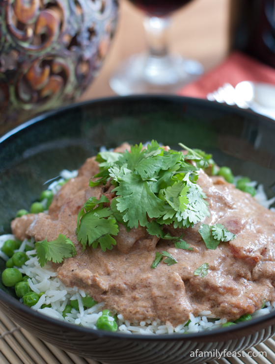 Slow Cooker Chicken Tikka Masala - A Family Feast