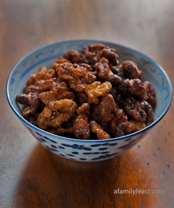 Chinese Fried Walnuts - A Family Feast