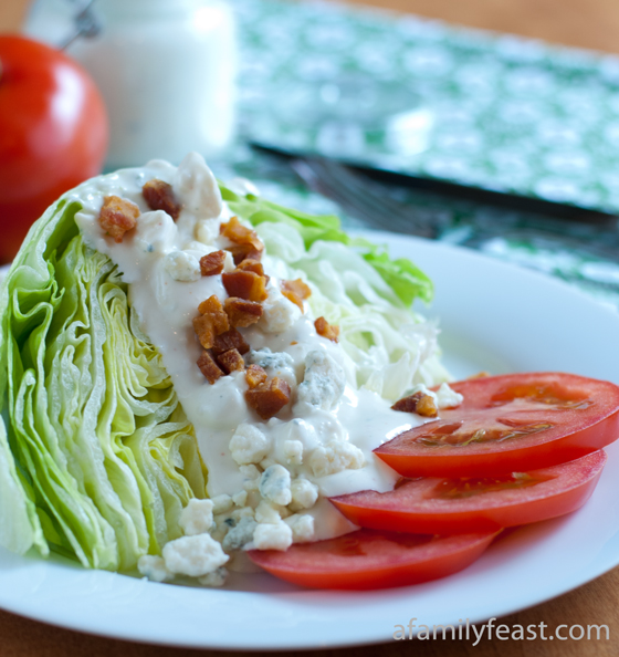 Roman Wedge Salad - A Family Feast