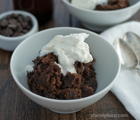 Brew Moon Chocolate Pudding - A Family Feast