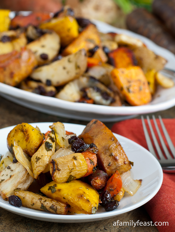 Roasted Root Vegetables - A Family Feast