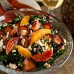 Dinner Party Series – Part 1: Tuscan Kale Salad with Oranges, Currants and Feta