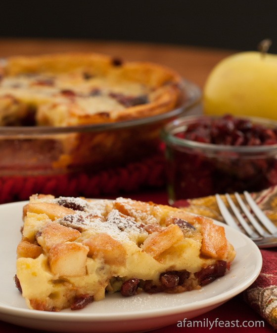 ... cranberry apple clafoutis would be very delicious served with some