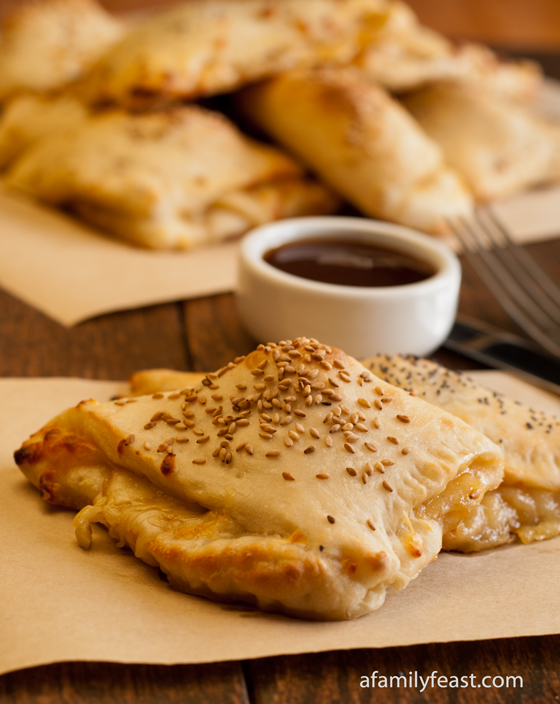 Beef Calzones - A Family Feast