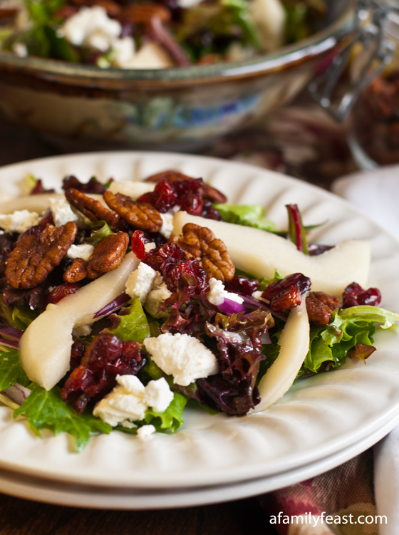 ... goat cheese roast chicken salad with peaches goat cheese and pecans