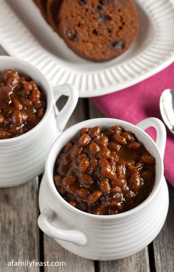 Boston Baked Beans - A Family Feast