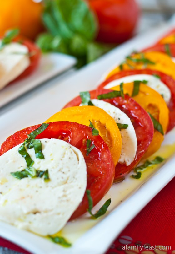 Caprese Salad - A Family Feast