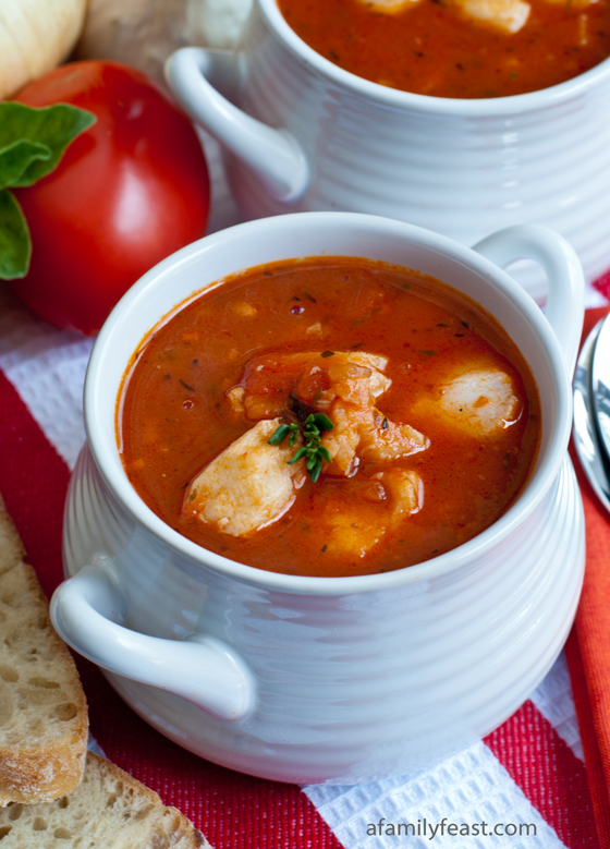 Italian Fish Chowder - A Family Feast