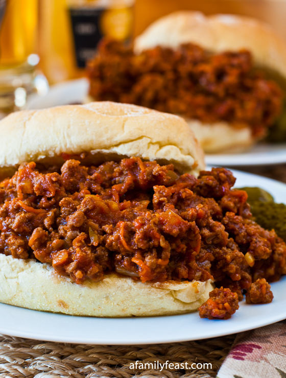 Sloppy Joes - A Family Feast