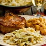 Braised Cabbage and Apples