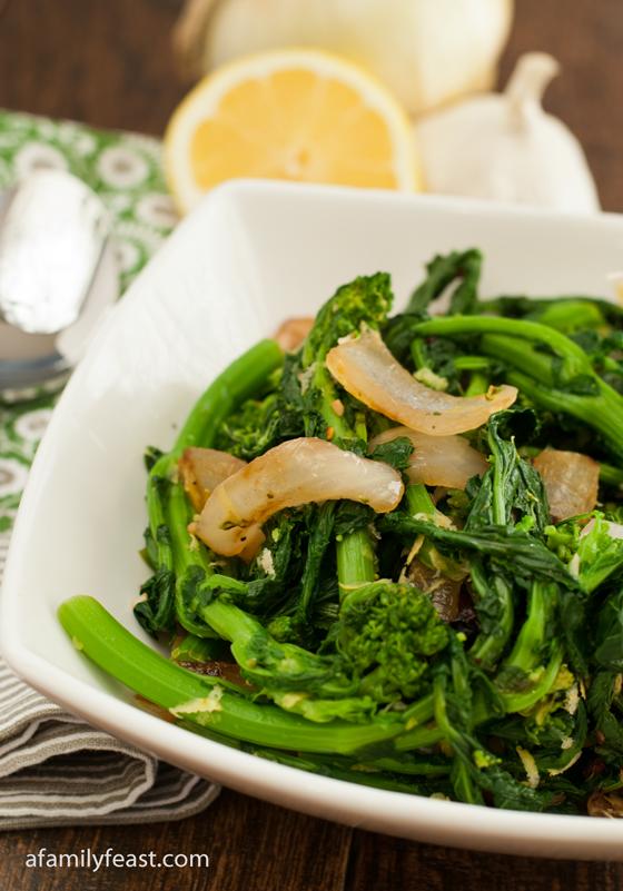 Broccoli Rabe - A Family Feast