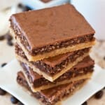 Malted Mocha Bars - A Family Feast