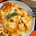 Creamy Pumpkin Pasta Bake - A Family Feast