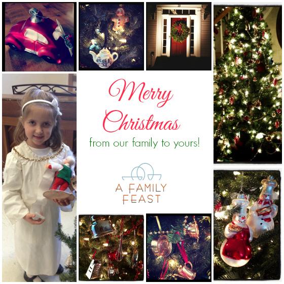 merry christmas a family feast