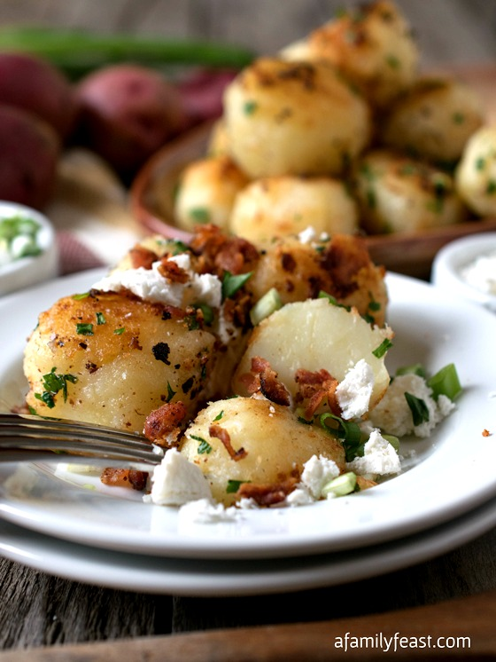 Rissole Potatoes Fresco - A Family Feast
