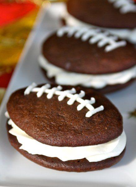 Football Whoopie Pies - 15 Fun Football Foods