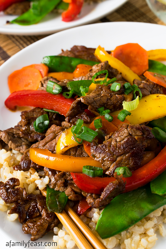 Beef Teriyaki Recipe — Dishmaps