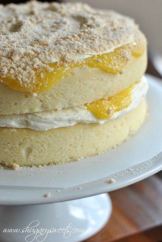 Cake With Cream Filling : 15+ Luscious Lemon Recipes - A Family Feast
