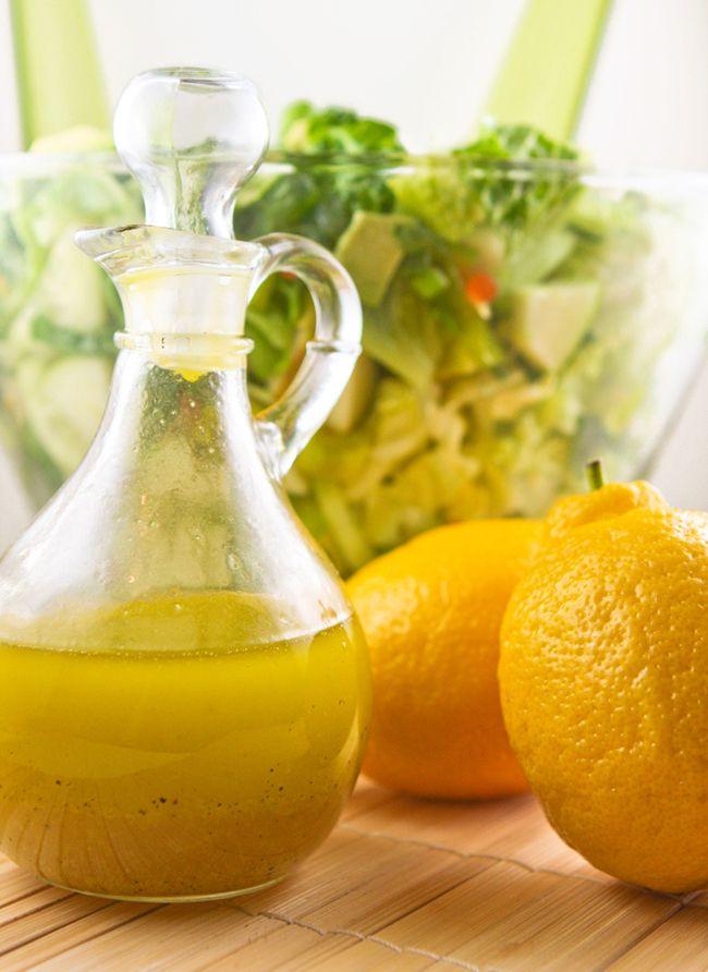 Lemon Vinaigrette - 15+ Luscious Lemon Recipes