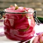 Pickled Red Onions - A Family Feast