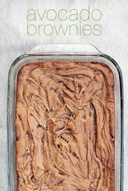 Avocado Brownies -– 20-plus Awesome Avocado Recipes