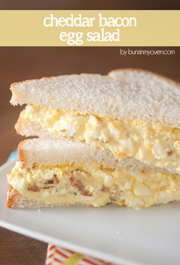 Cheddar Bacon Egg Salad - Deviled Egg Salad Sandwiches - Jalapeno, Caper, and Avocado Egg Salad - 12 Eggs-cellent Egg Salad Recipes