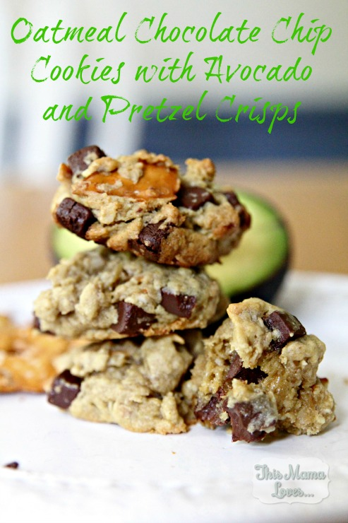 Oatmeal Chocolate Chip Cookies with Pretzels and Avocado – 20-plus ...