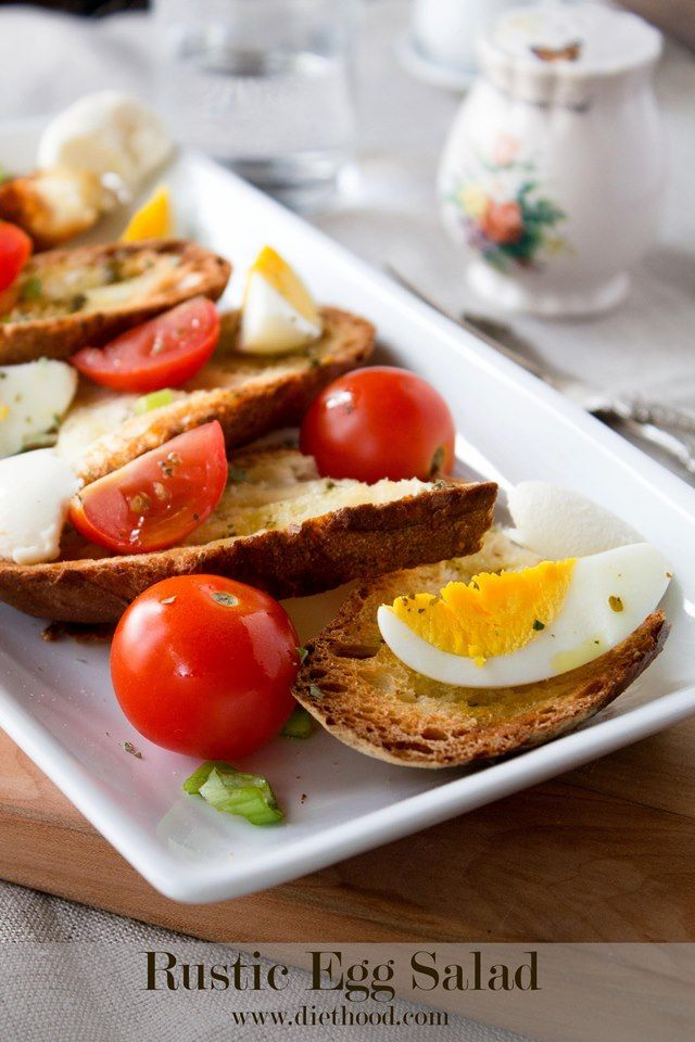 Rustic Egg Salad - 12 Eggs-cellent Egg Salad Recipes