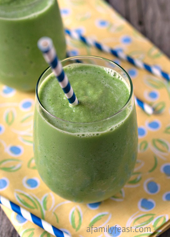 Honeydew Melon Smoothie - A Family Feast