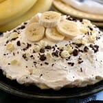 White Chocolate Banana Cream Pie {#PiDay Party} - A Family Feast