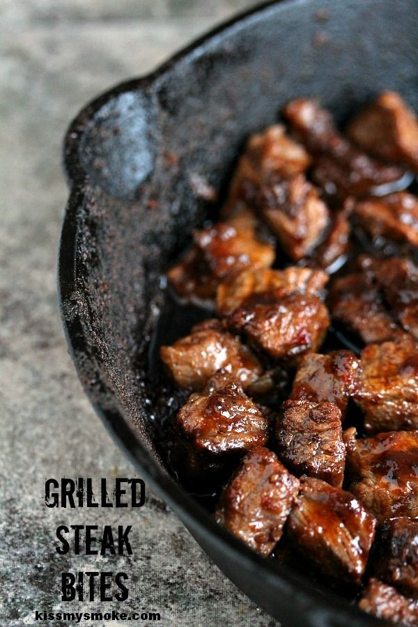 Grilled Steak Bites - 20+ Sizzling Steak Recipes