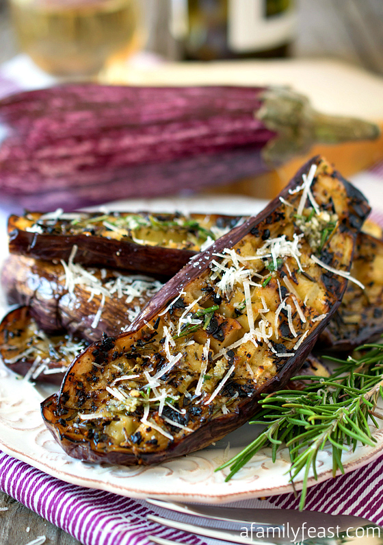 Grilled Graffiti Eggplant recipe - Delicious and tender with fantastic ...