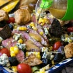 Grilled Steak and Corn Salad