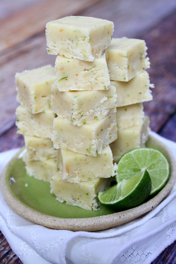 Key Lime Fudge - 30-Plus Fantastic Key Lime Recipes - A Family Feast