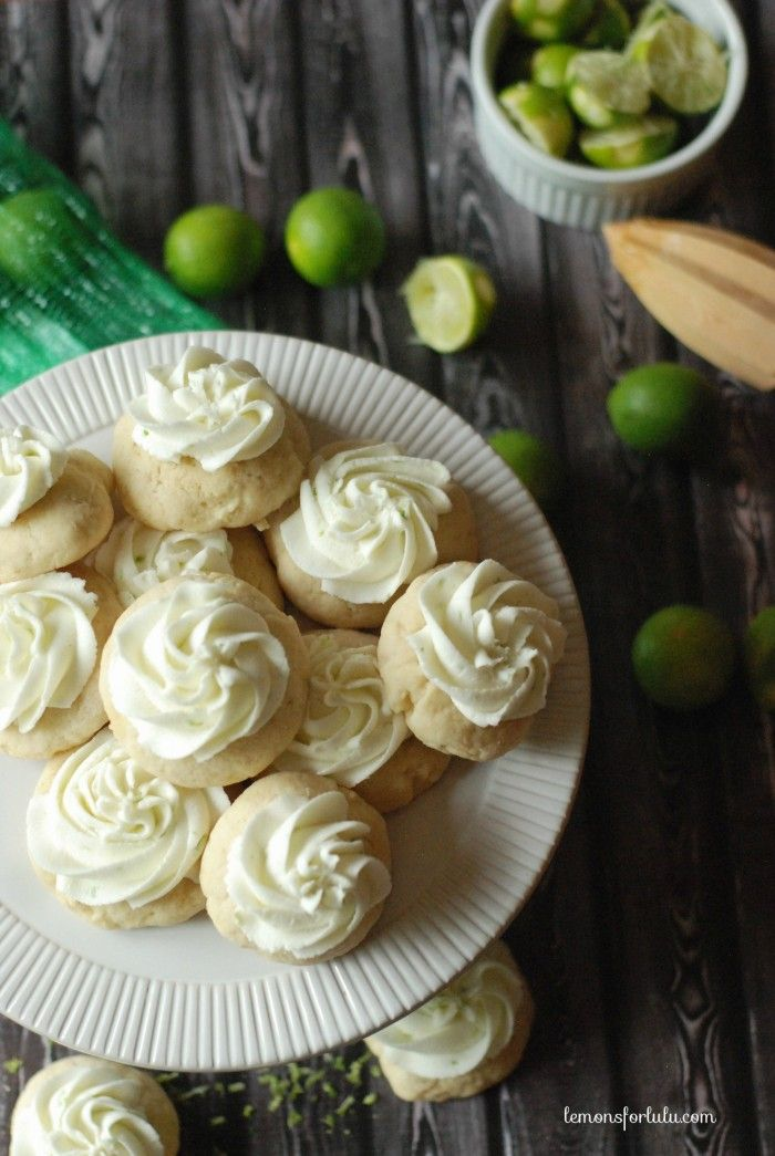 Key Lime Pie Sugar Cookies - 30-Plus Fantastic Key Lime Recipes - A Family Feast