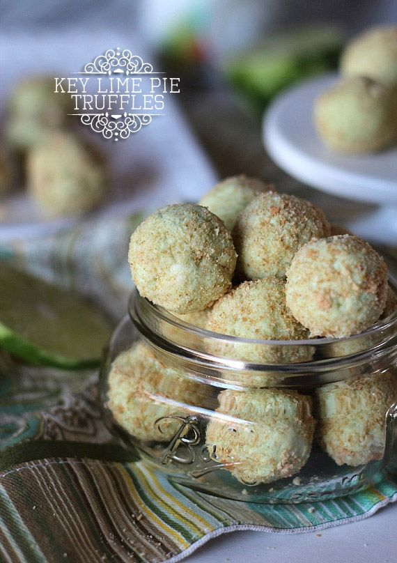 Key Lime Pie Truffles - 30-Plus Fantastic Key Lime Recipes - A Family Feast