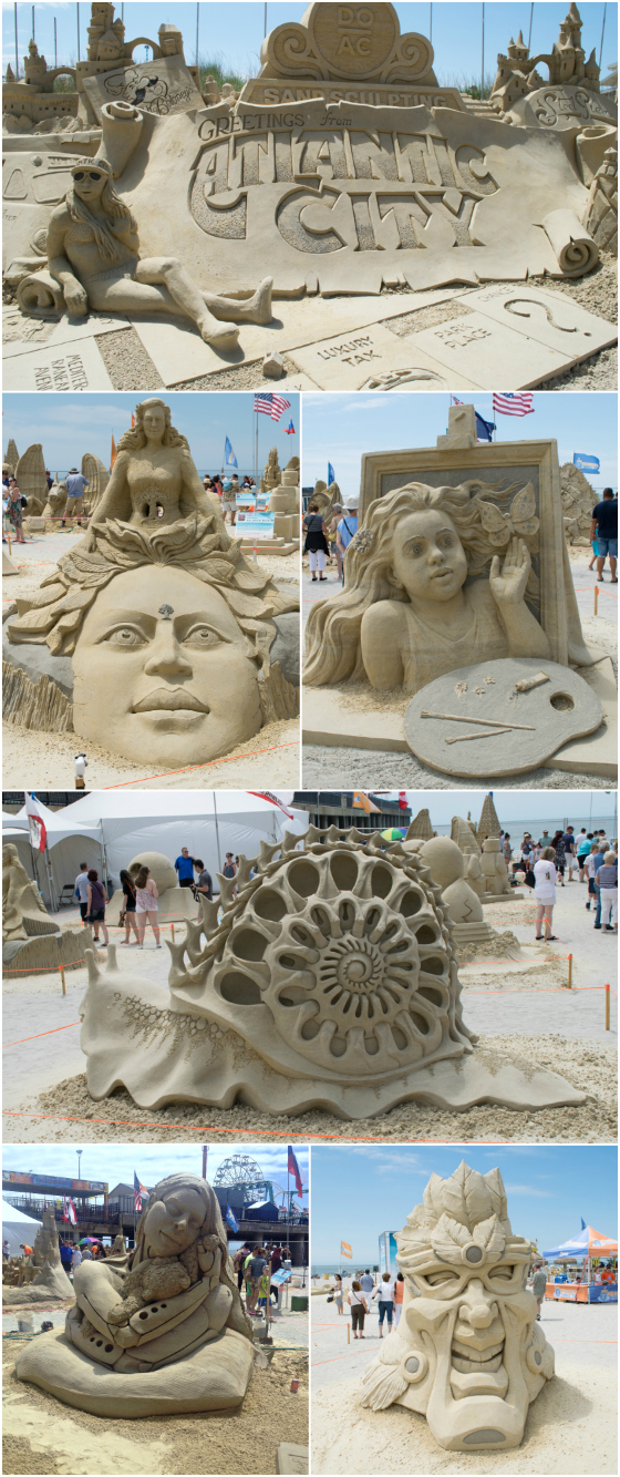 DoAC Sand Sculpting - A Family Feast