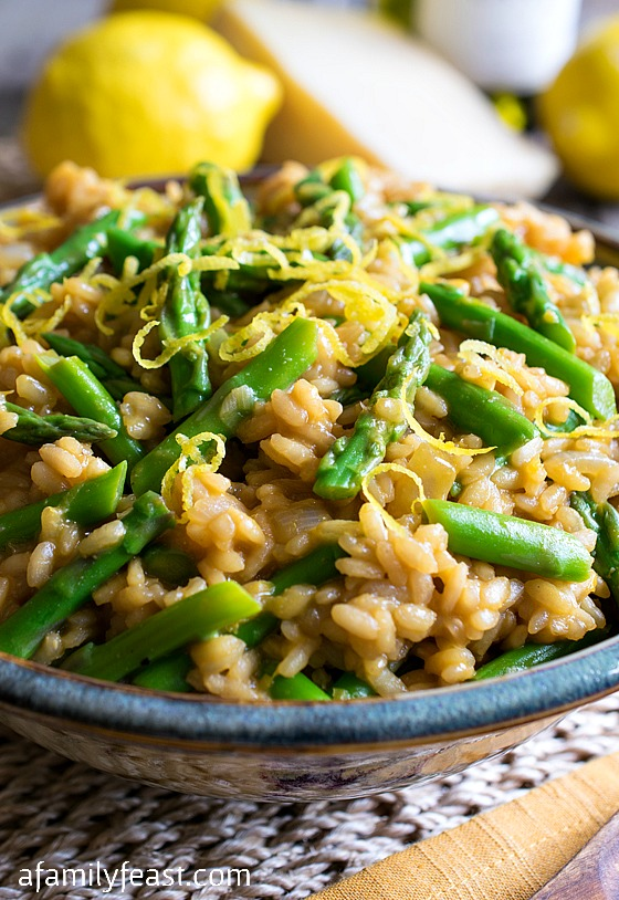 Lemony Asparagus Risotto Recipes — Dishmaps