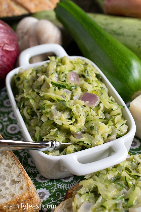 Zucchini Butter - A Family Feast
