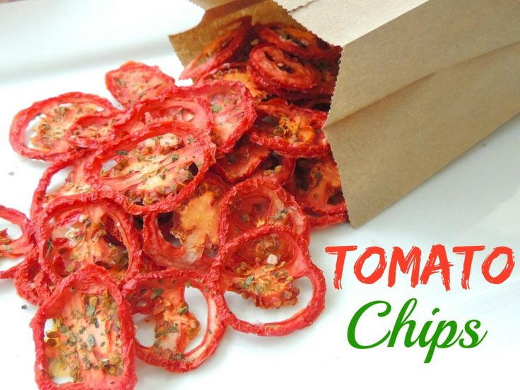 Tomato Chips - 30+ Recipes for Your Garden Tomatoes
