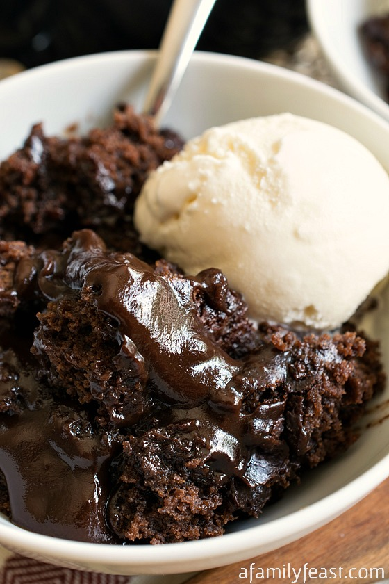 Hot Fudge Pudding Cake - A Family Feast