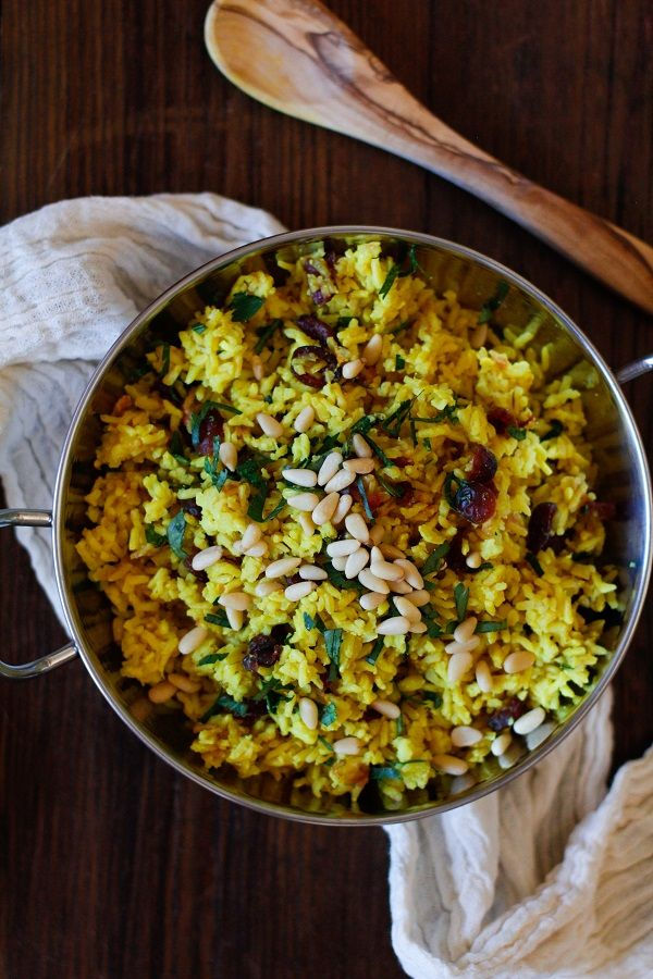 Ginger and Turmeric Aromatic Rice - 30+ Remarkable Rice Recipes