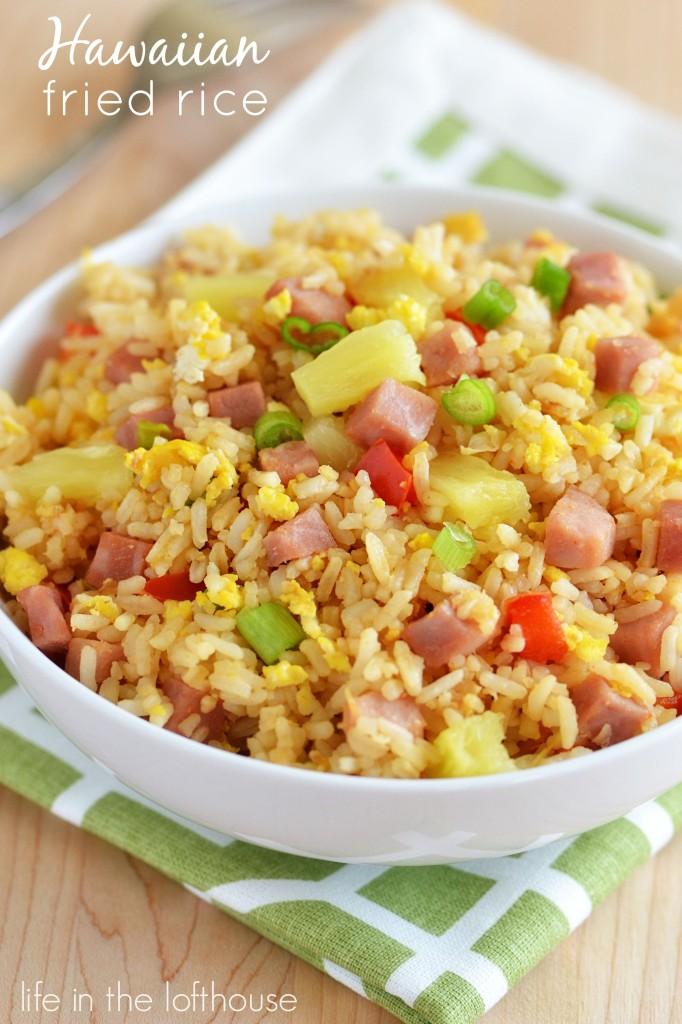 Hawaiian Fried Rice - 30+ Remarkable Rice Recipes