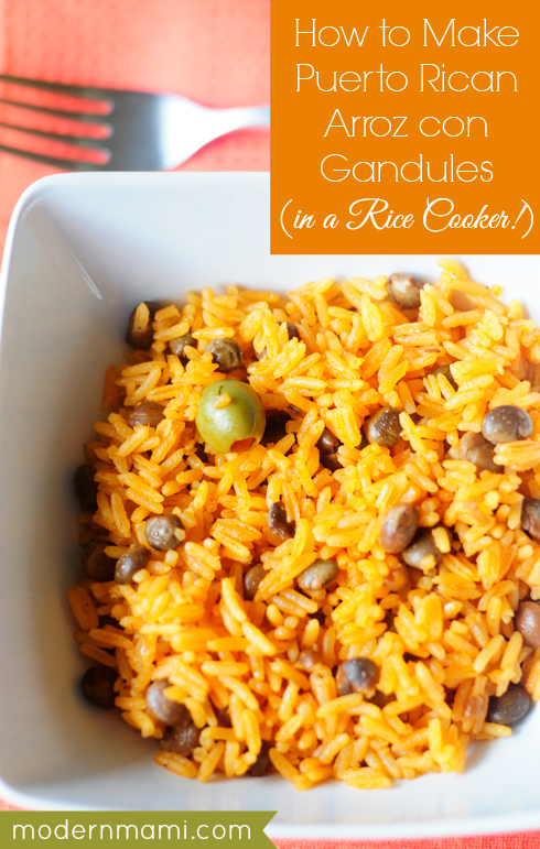 (Puerto Rican) Arroz con Gandules - 30+ Remarkable Rice Recipes