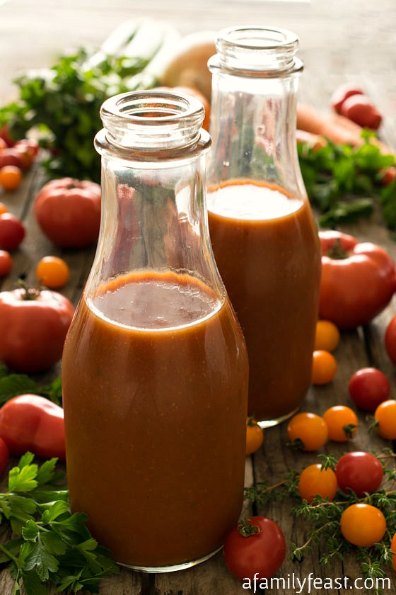 Homemade Tomato Juice - An old family recipe for Homemade Tomato Juice ...